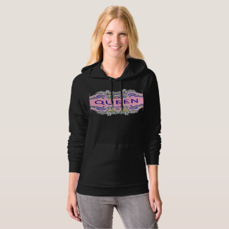 QUEEN California Fleece Pullover Hoodie