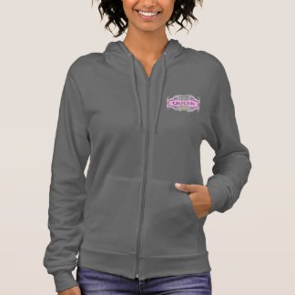 QUEEN California Fleece Zip Hoodie