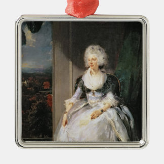 Queen Charlotte, 1789-90, wife of George III Christmas Ornament