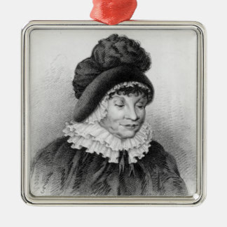 Queen Charlotte, c.1818 Christmas Ornament
