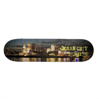 Queen City Streets 20 Cm Skateboard Deck
