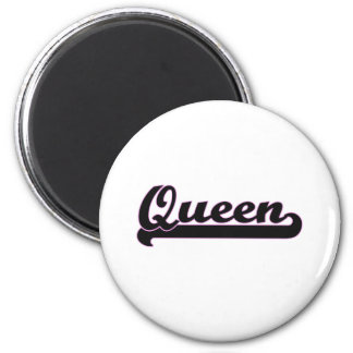 Queen Classic Job Design 6 Cm Round Magnet