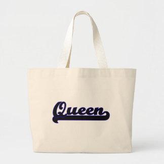 Queen Classic Job Design Jumbo Tote Bag