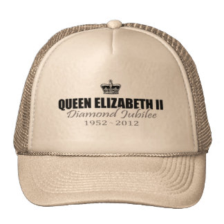 Queen Diamond Jubilee Souvenir Cap