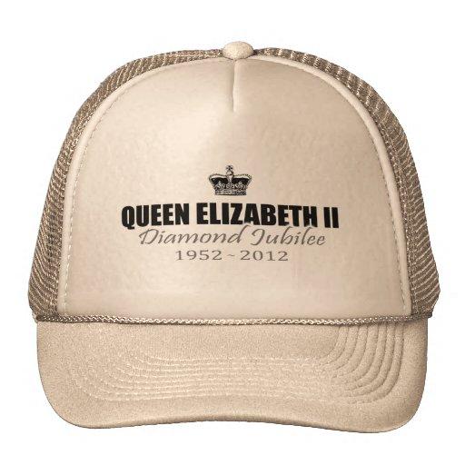 Queen Diamond Jubilee Souvenir Cap Trucker Hat