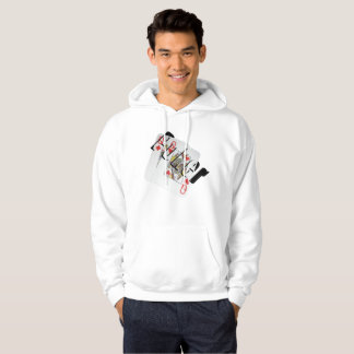 Queen Dimensional Poker Logo, Mens Sweatshirt