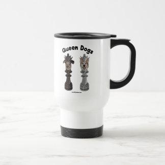 Queen Dogs Chess Coffee Mug