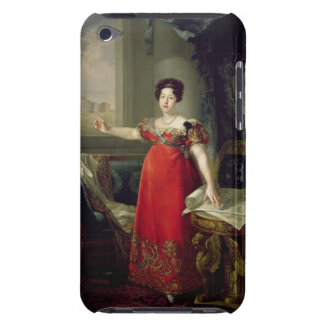 Queen Dona Maria Isabel de Braganza, 1829 (oil on iPod Touch Case-Mate Case