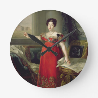 Queen Dona Maria Isabel de Braganza, 1829 (oil on Wall Clocks