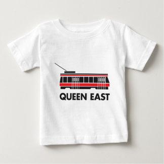Queen East (Toronto) Streetcar Baby T-Shirt