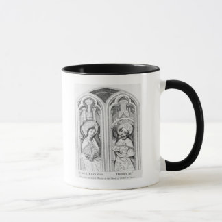 Queen Eleanor and Henry III, taken ancient Mug