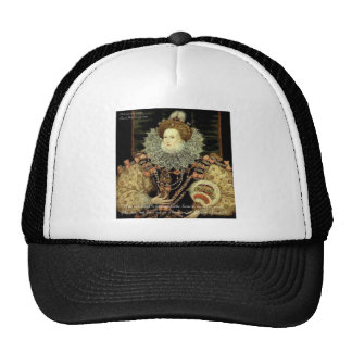 Queen Elizabeth 1 Love/Honour Love Quote Gifts Cap