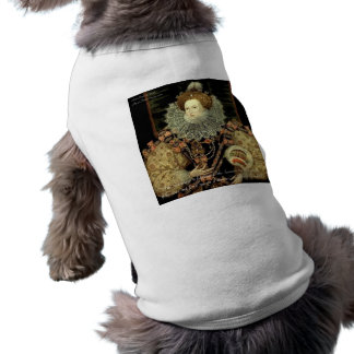 Queen Elizabeth 1 Love/Honour Love Quote Gifts Sleeveless Dog Shirt