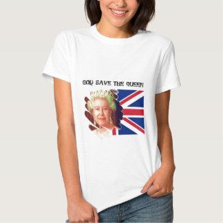 queen elizabeth 2 tshirts