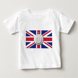 Queen Elizabeth 60 Year Jubilee Baby T-Shirt