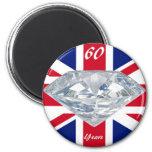 Queen Elizabeth 60 Year Jubilee Fridge Magnet