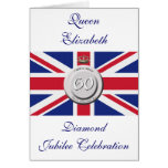 Queen Elizabeth 60 Year Jubilee Greeting Cards