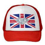 Queen Elizabeth 60 Year Jubilee Mesh Hats