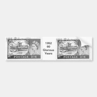 Queen Elizabeth Bumper Sticker
