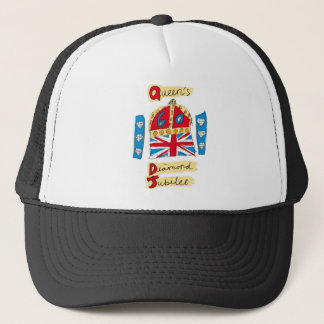 queen elizabeth diamond jubilee 2012 trucker hat