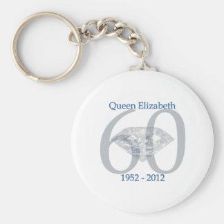 Queen Elizabeth Diamond Jubilee Key Ring