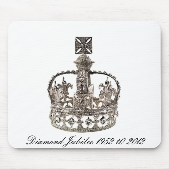 Queen Elizabeth Diamond Jubilee Mousepad