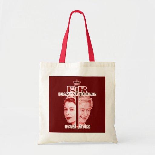 Queen Elizabeth Diamond Jubilee Souvenir Bag