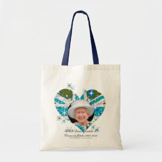 Queen Elizabeth Diamond Jubilee UK flag Bags