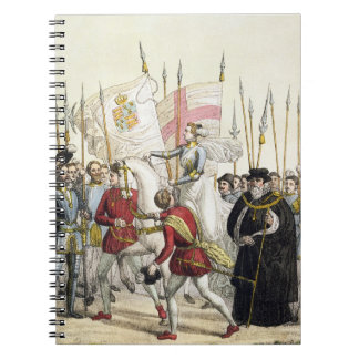 Queen Elizabeth I (1530-1603) Rallying the Troops Notebooks