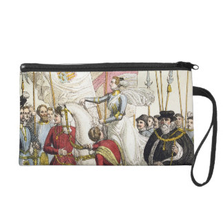 Queen Elizabeth I (1530-1603) Rallying the Troops Wristlet Clutches