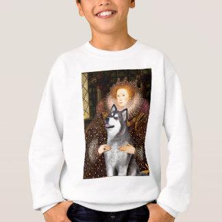 Queen Elizabeth I - Alaskan Malamute Sweatshirt