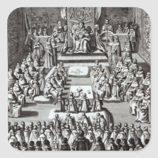 Queen Elizabeth I  and Parliament Square Sticker