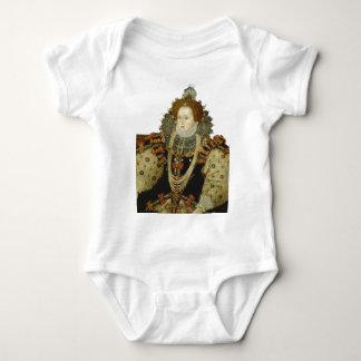 Queen Elizabeth I Baby Bodysuit