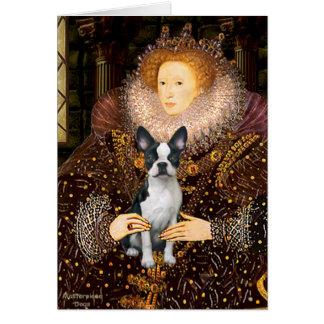 Queen Elizabeth I - Boston T #1 Greeting Card