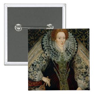 Queen Elizabeth I, c.1585-90 15 Cm Square Badge