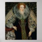 Queen Elizabeth I, c.1585-90 Poster