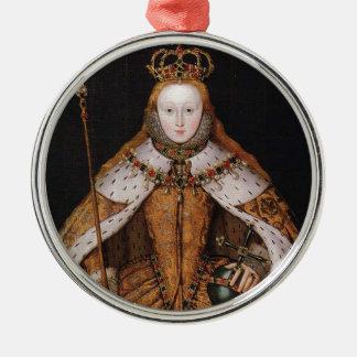 Queen Elizabeth I Christmas Ornament