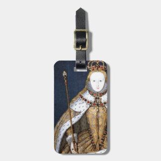 Queen Elizabeth I: Coronation Luggage Tag