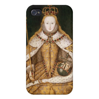 Queen Elizabeth I in Coronation Robes iPhone 4/4S Covers