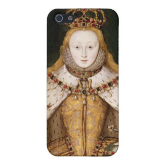 Queen Elizabeth I in Coronation Robes iPhone 5/5S Covers