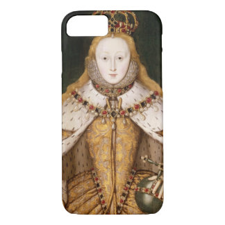 Queen Elizabeth I in Coronation Robes iPhone 8/7 Case