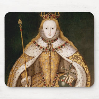 Queen Elizabeth I in Coronation Robes Mouse Mat