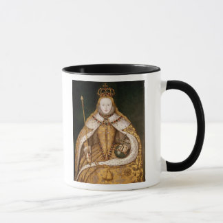 Queen Elizabeth I in Coronation Robes Mug