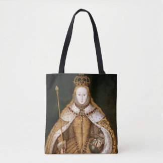 Queen Elizabeth I in Coronation Robes Tote Bag