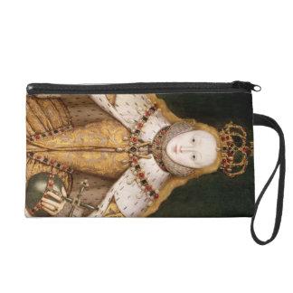 Queen Elizabeth I in Coronation Robes Wristlet Purses