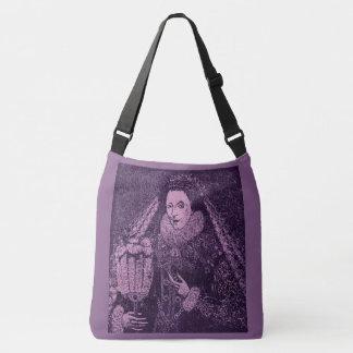 Queen Elizabeth I in lavender Crossbody Bag