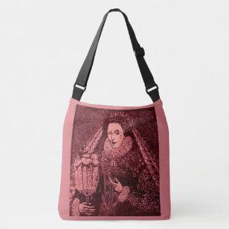 Queen Elizabeth I in pink Crossbody Bag