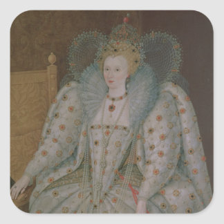 Queen Elizabeth I of England and Ireland Square Sticker