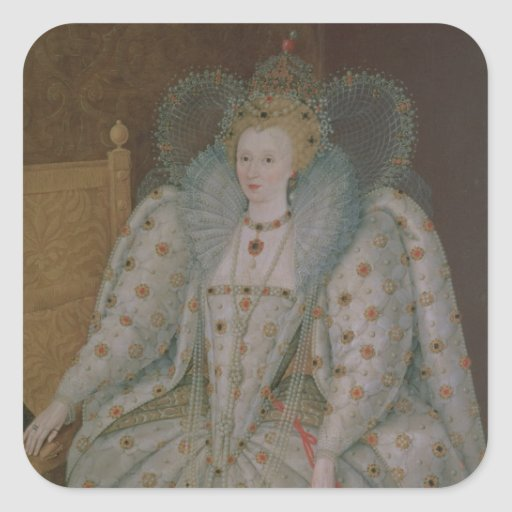 Queen Elizabeth I of England and Ireland Stickers