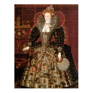 Queen Elizabeth I of England Postcard